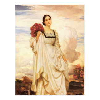 The Countess Brownlow, Frederic Leighton Postcard