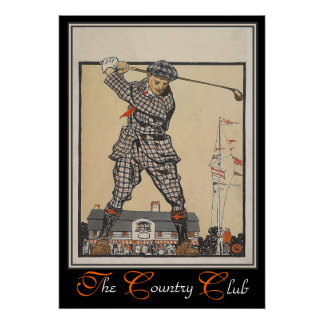 The Country Club Print