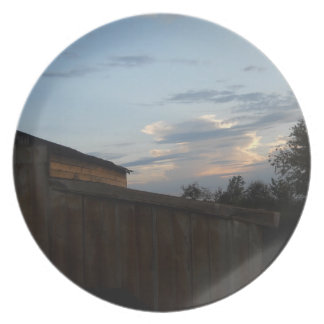 The Country Sky Plate