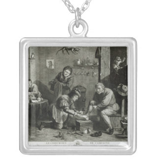 The Country Surgeon Silver Plated Necklace