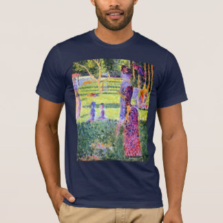 The Couple by Georges Seurat, Vintage Pointillism T-Shirt