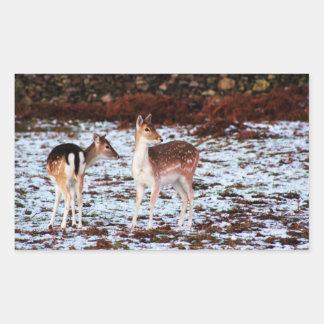 The Couple (deer) Sticker