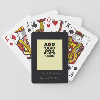 the couple photo playing cards