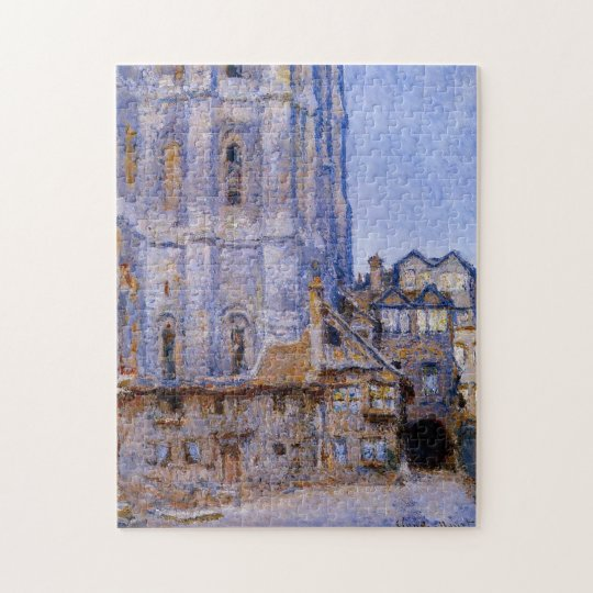 The Cour d'Albane Monet Fine Art Jigsaw Puzzle