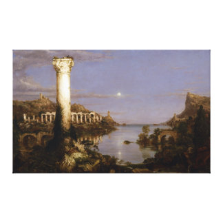 The Course of Empire: Desolation by Thomas Cole Canvas Print