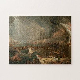 The Course of Empire - Destruction by Thomas Cole Jigsaw Puzzle
