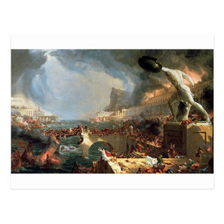 The Course of Empire: Destruction by Thomas Cole Postcard