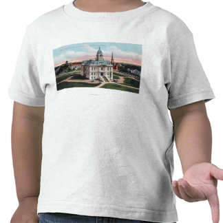 The Court House, Post Office, Capitol Bldg T-shirt