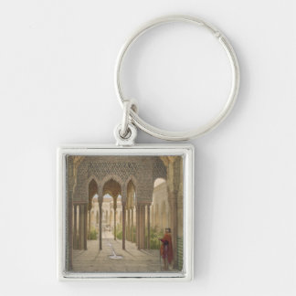 The Court of the Lions, the Alhambra, Granada, 185 Keychain