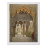 The Court of the Lions, the Alhambra, Granada, 185 Poster