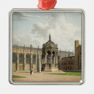 The Court of Trinity College, Cambridge, from 'The Silver-Colored Square Ornament
