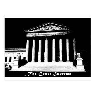 The Court Supreme Postcard
