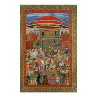 The Court Welcoming Emperor Jahangir Poster