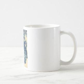 The Courtesan Hanao of Ogiya by Utagawa,Kuniyoshi Coffee Mug