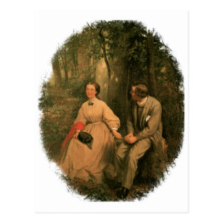 The Courtship by George Cochran Lambdin Postcard