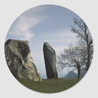 The Cove, Avebury, Wiltshire, England Europe Round Sticker