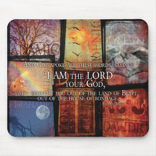 The Covenants of God Mouse Pad