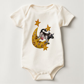 The Cow jumped over the Moon! Baby Bodysuit