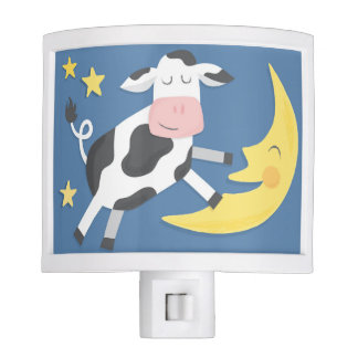 The Cow Jumped Over the Moon Nightlight Night Light