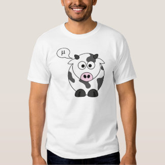 The Cow Says μ Shirt
