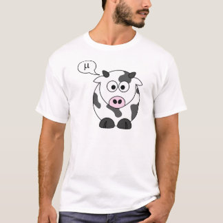 The Cow Says μ T-Shirt