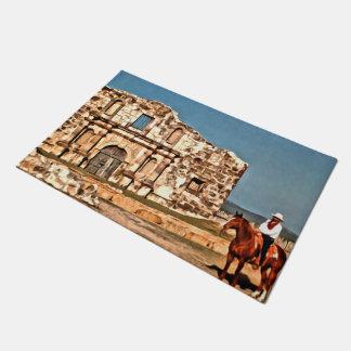 The Cowboy and the Alamo Doormat