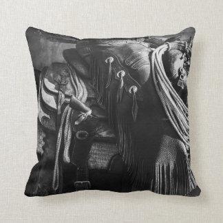 The cowboy collection throw pillow
