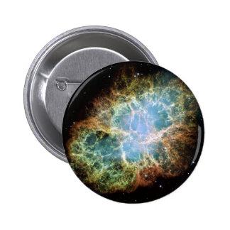 The Crab Nebula 2 Inch Round Button