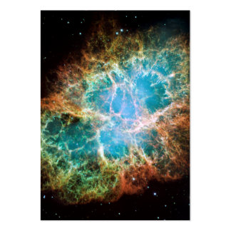 The Crab Nebula Large Business Card