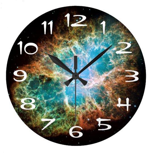 The Crab Nebula Wall Clock