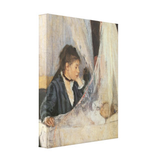 The Cradle, 1872 Stretched Canvas Print