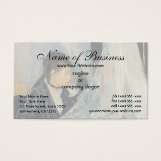 The Cradle by Berthe Morisot Business Card