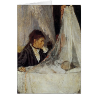 The Cradle by Berthe Morisot Card