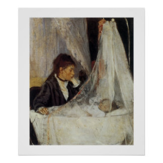 The Cradle by Berthe Morisot Poster