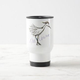 The Crane Collection - 15 Oz Stainless Steel Travel Mug