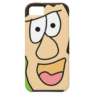 the crazy grandpa cartoon iPhone 5 case