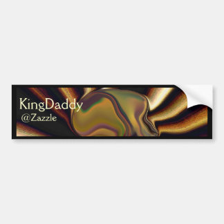 The Creation KingDaddy Bumper Sticker