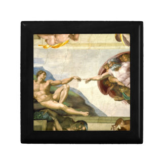 The Creation of Adam by Michelangelo Fine Art Gift Box