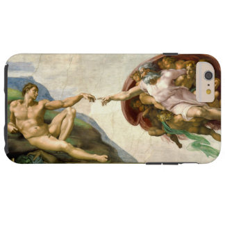 The Creation of Adam by Michelangelo Tough iPhone 6 Plus Case