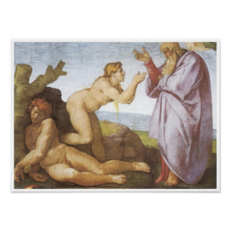 The Creation of Eve 1510-11 Michelangelo Poster