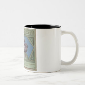 The Creation of Light, illustration from the Rapha Two-Tone Coffee Mug