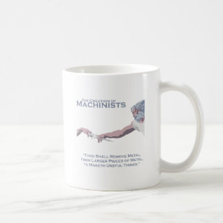The Creation of Machinists Coffee Mug