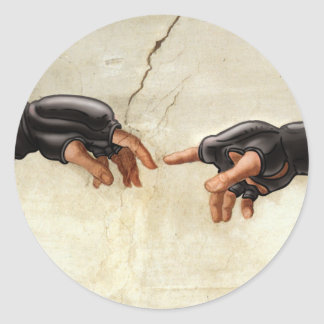 The Creation of MMA Stickers