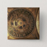 The Creation of the World, from the Genesis Cupola 2 Inch Square Button