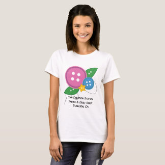 The Creation Station Button T-Shirt