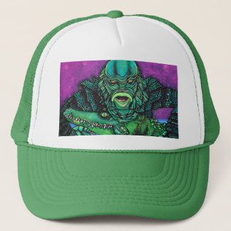 The Creature Lives Trucker Hat
