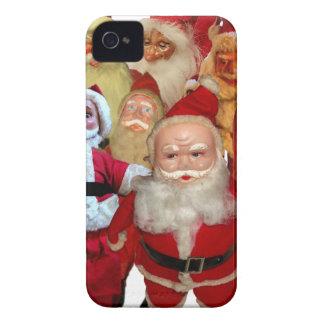 The Creepy Vintage Santa Gang iPhone 4 Case-Mate Case
