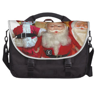 The Creepy Vintage Santa Gang Laptop Commuter Bag