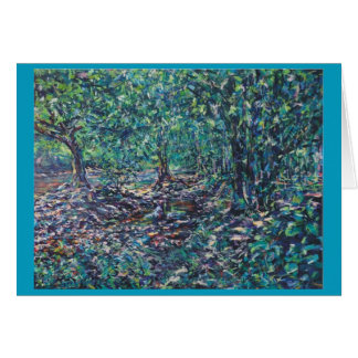 The Creuse at Monet bridge Card