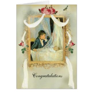 The Crib 2 Congratulations Card